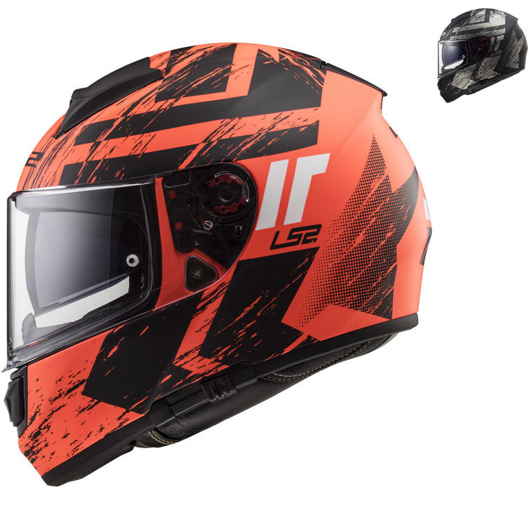 LS2 FF397 Vector HPFC Evo Hunter Motorcycle Helmet