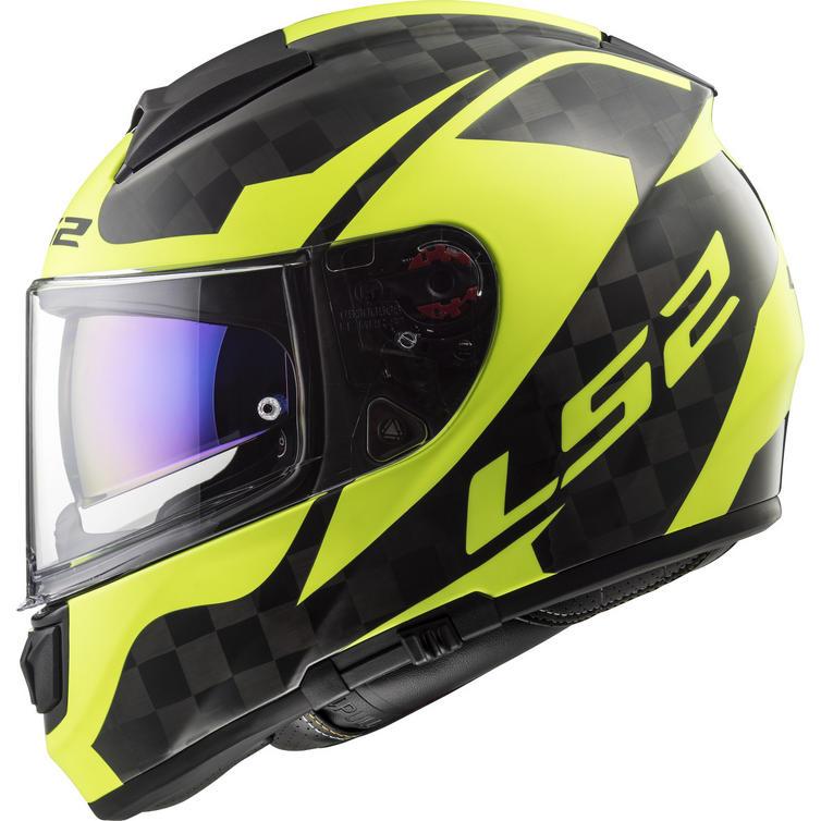 LS2 FF397 Vector C Shine Carbon Motorcycle Helmet