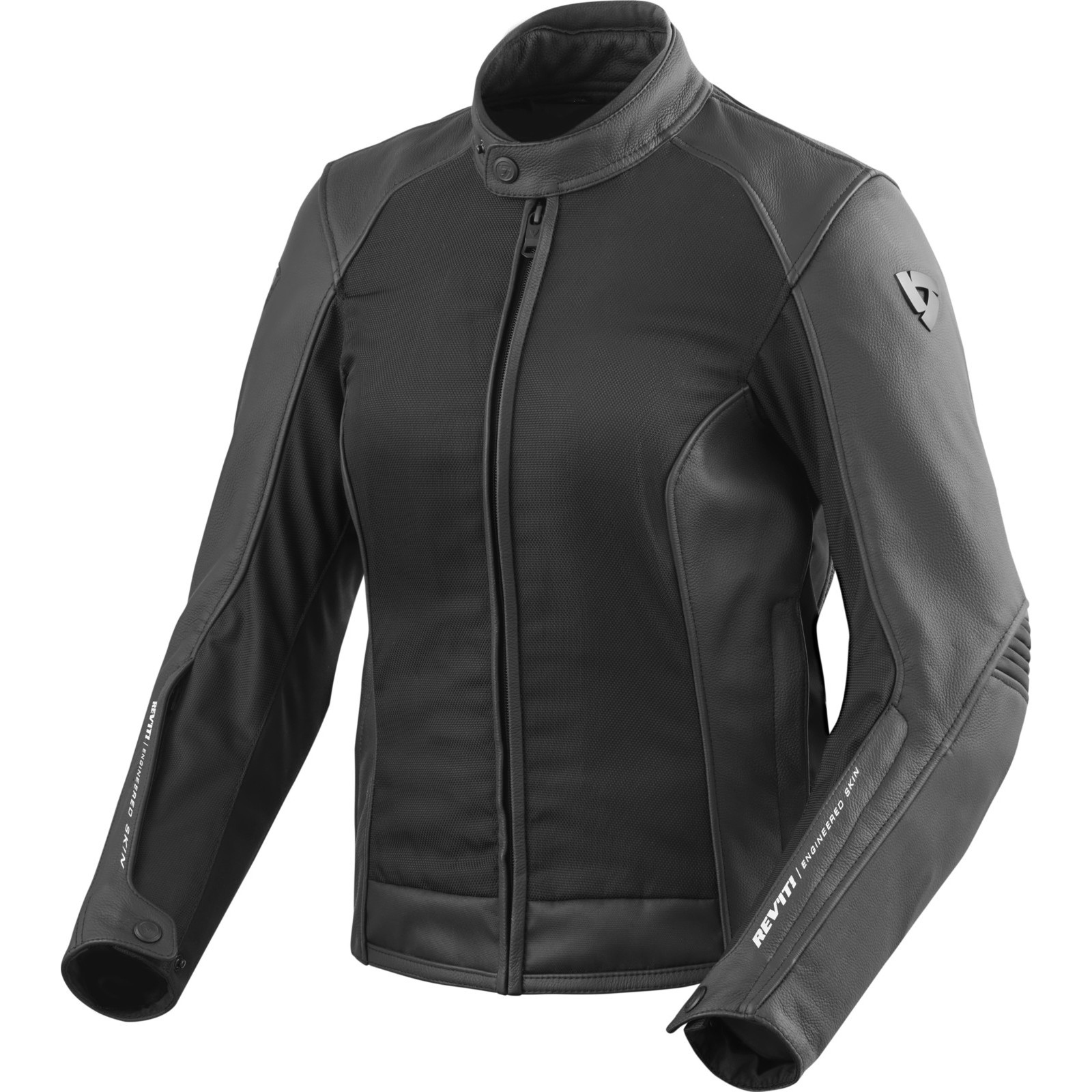 Rev It Ignition 3 Ladies Leather Motorcycle Jacket Women S Urban