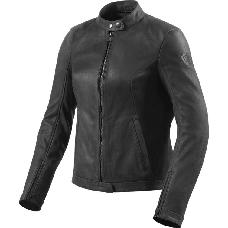 Rev It Rosa Ladies Leather Motorcycle Jacket
