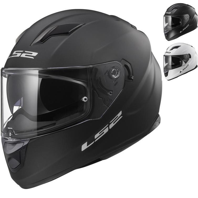 LS2 FF320 Stream Evo Solid Motorcycle Helmet