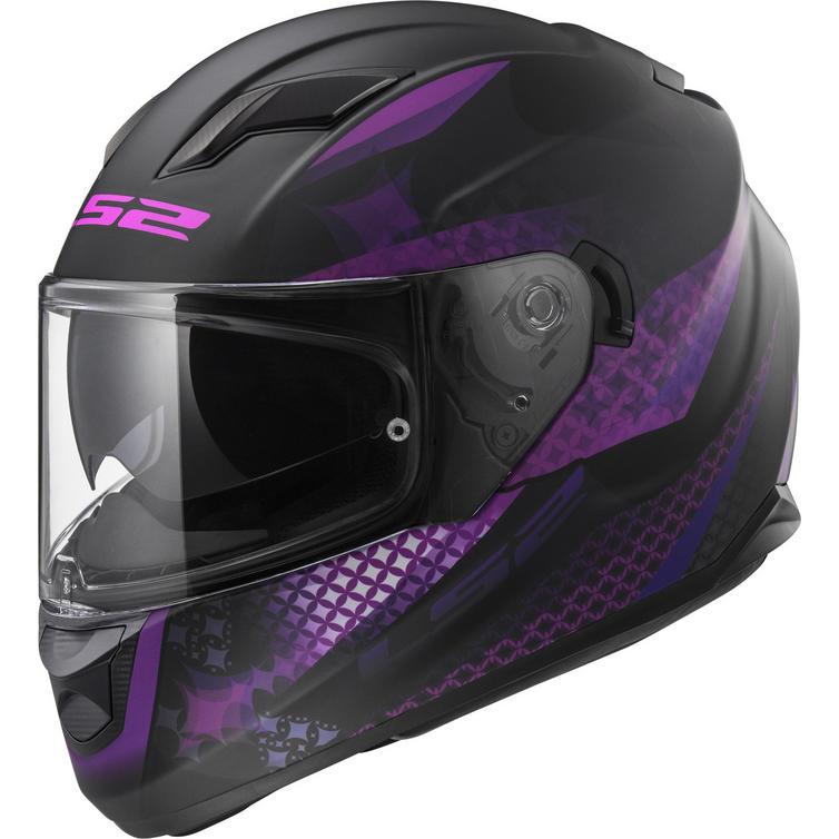 LS2 FF320 Stream Evo Lux Motorcycle Helmet