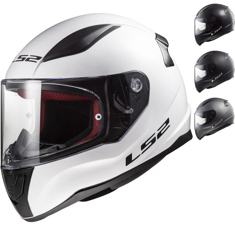 LS2 FF353 Rapid Solid Motorcycle Helmet