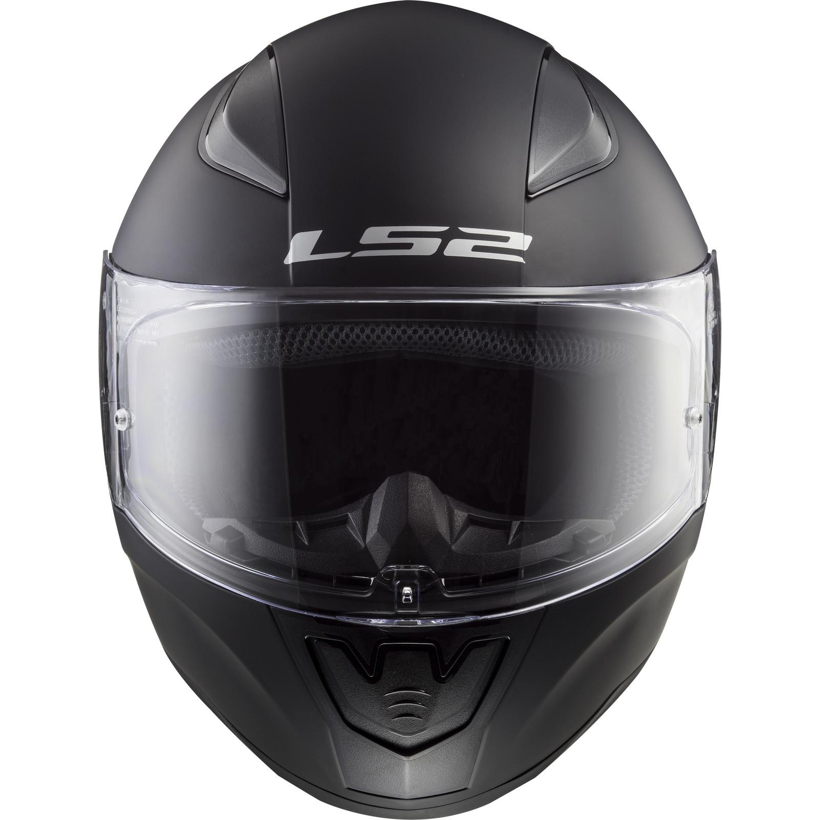 LS2 FF353 RAPID SINGLE MONO MATT BLACK 3XL
