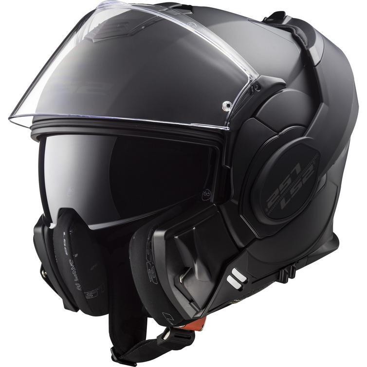 LS2 FF399 Valiant Noir Motorcycle Helmet