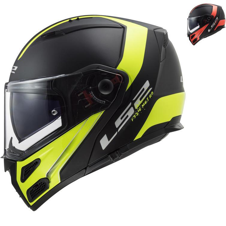 LS2 FF324 Metro Evo P-J Rapid Flip Front Motorcycle Helmet