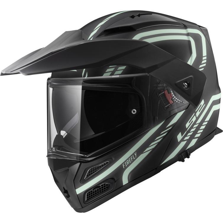 LS2 FF324 Metro Evo Firefly Flip Front Motorcycle Helmet