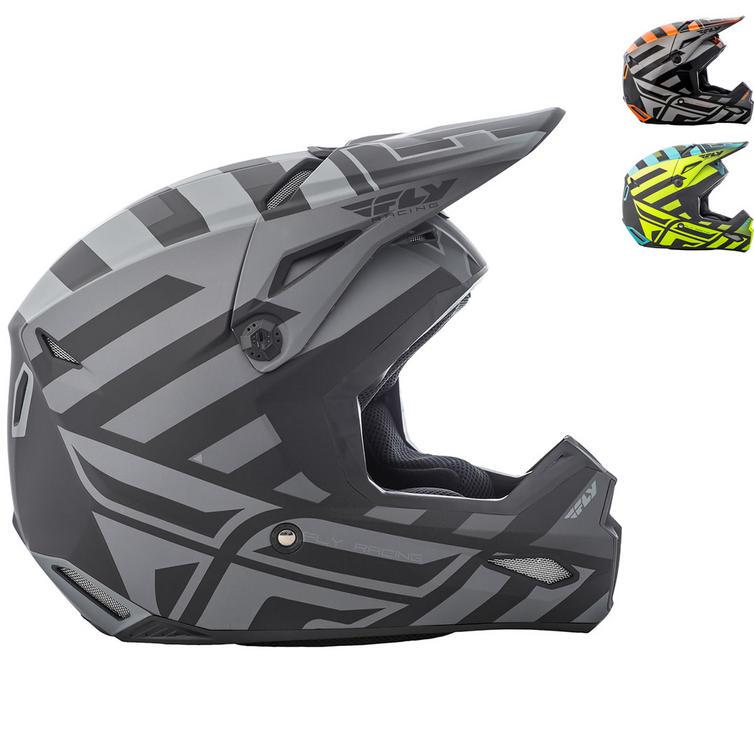 Fly Racing 2018 Elite Interlace Motocross Helmet