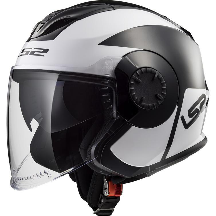 LS2 OF570 Verso Mobile Open Face Motorcycle Helmet