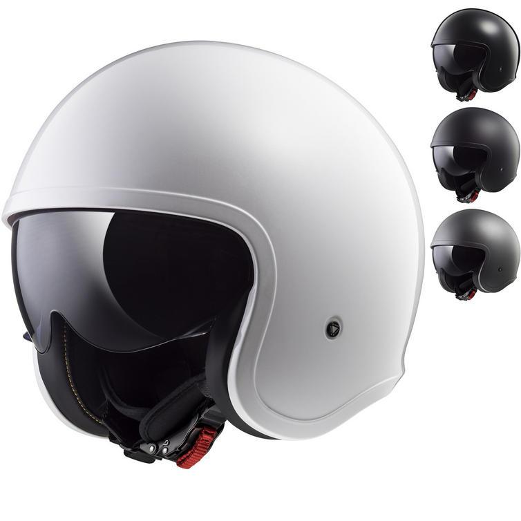 LS2 OF599 Spitfire Solid Open Face Motorcycle Helmet