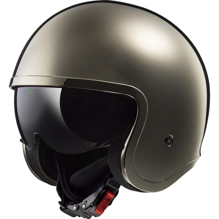LS2 OF599 Spitfire Solid Open Face Motorcycle Helmet
