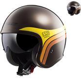 LS2 OF599 Spitfire Sunrise Open Face Motorcycle Helmet