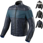 Rev It Nova Vintage Leather Motorcycle Jacket