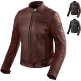 Rev It Clare Ladies Leather Motorcycle Jacket