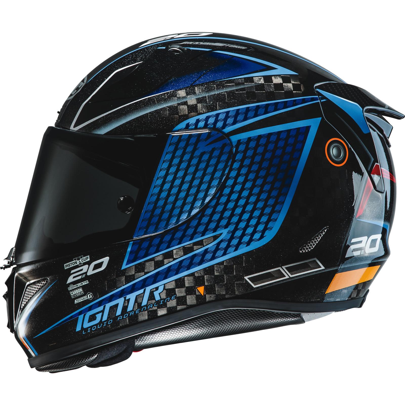 Hjc Rpha 11 >> Hjc Rpha 11 Carbon Jackson Storm Disney Pixar Black Motorcycle