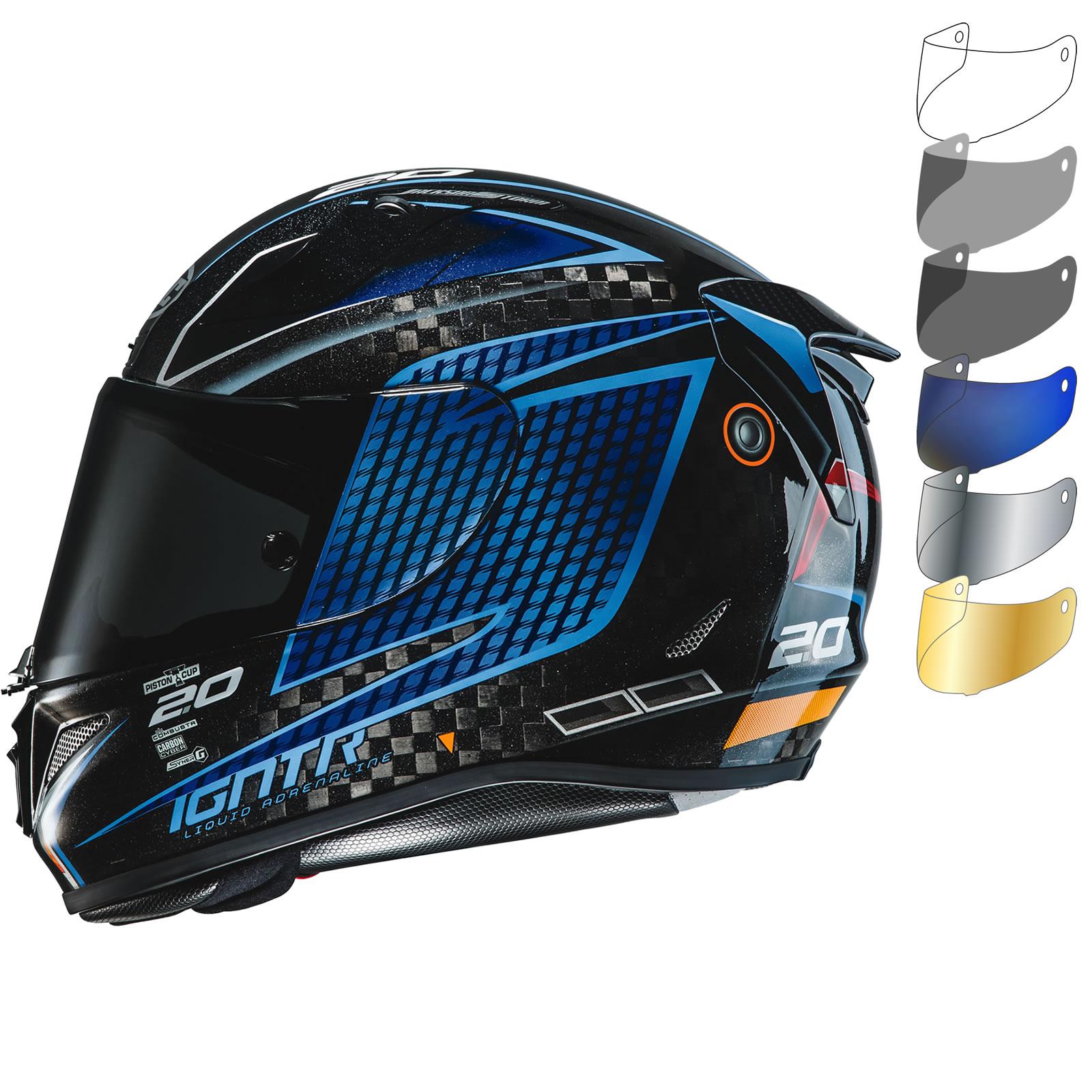 Hjc Rpha 11 >> HJC RPHA 11 Carbon Jackson Storm Disney Pixar Motorcycle Helmet & Visor - New Arrivals ...