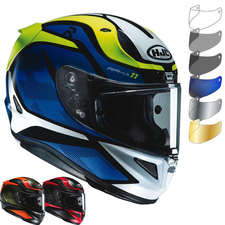 HJC RPHA 11 Deroka Motorcycle Helmet & Visor