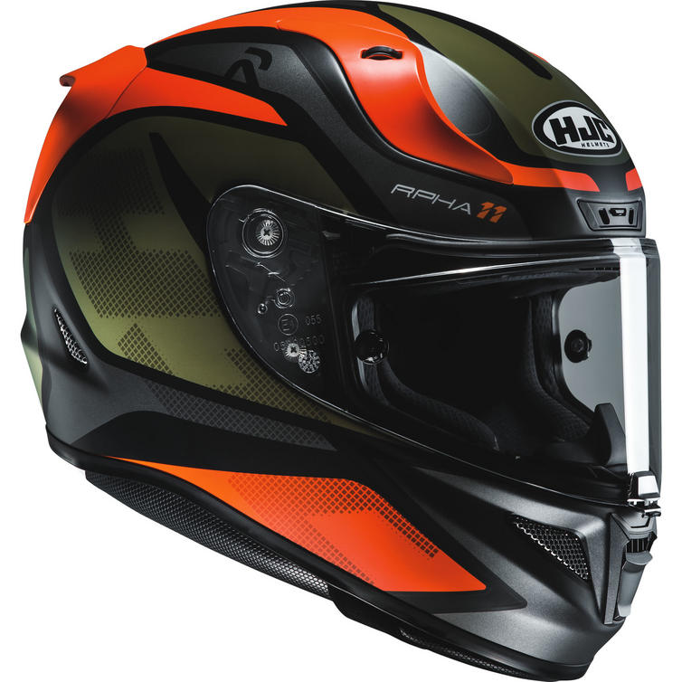 hjc rpha 11 deroka motorcycle helmet visor new. Black Bedroom Furniture Sets. Home Design Ideas