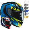 HJC RPHA 11 Chakri Motorcycle Helmet & Visor Thumbnail 2