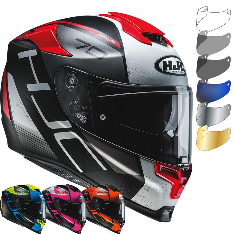 HJC RPHA 70 Vias Motorcycle Helmet & Visor