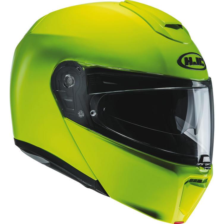 HJC RPHA 90 Fluorescent Flip Front Motorcycle Helmet