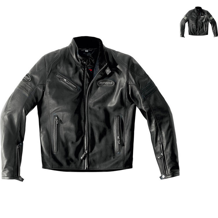 Spidi Ace Leather Motorcycle Jacket
