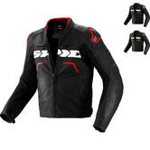 Spidi Evorider Leather Motorcycle Jacket