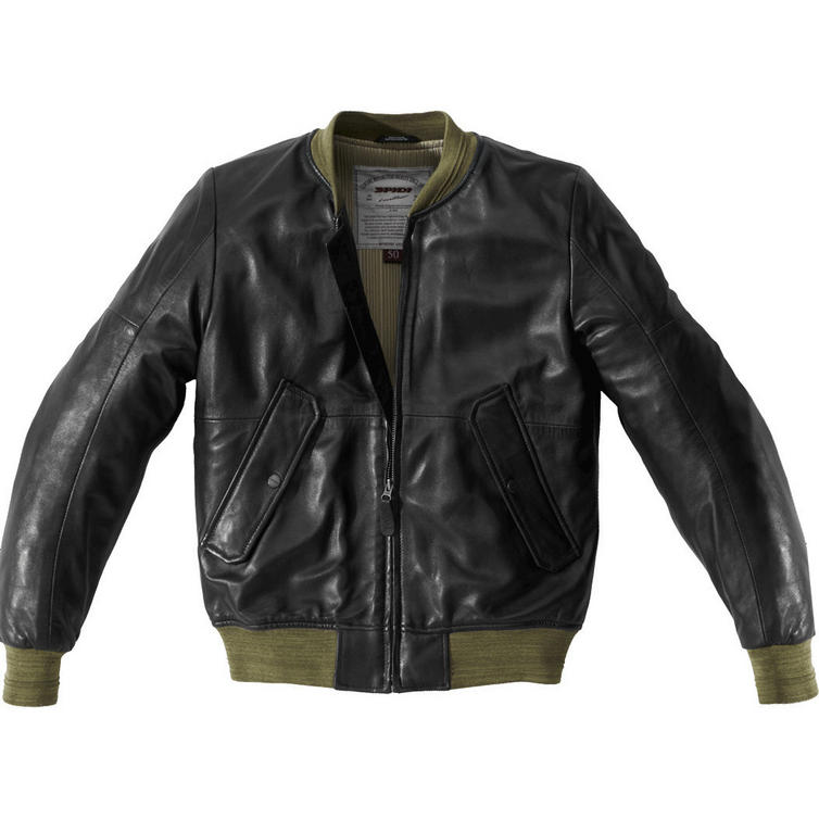 Spidi Super Leather Motorcycle Jacket