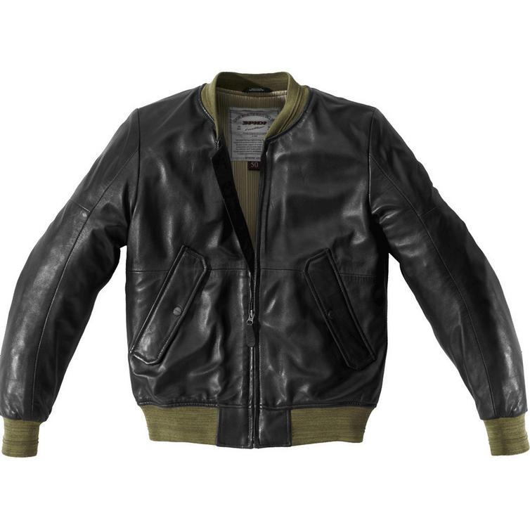 Spidi Super Leather Motorcycle Jacket