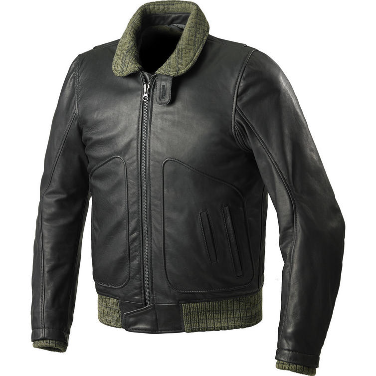 Spidi Tank Leather Motorcycle Jacket