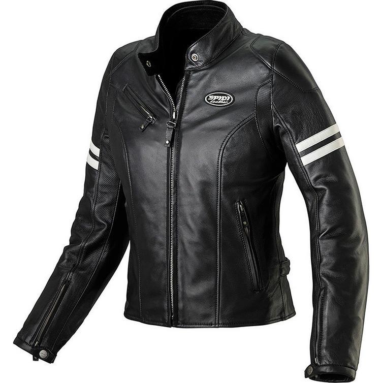 Spidi Ace Ladies Leather Motorcycle Jacket