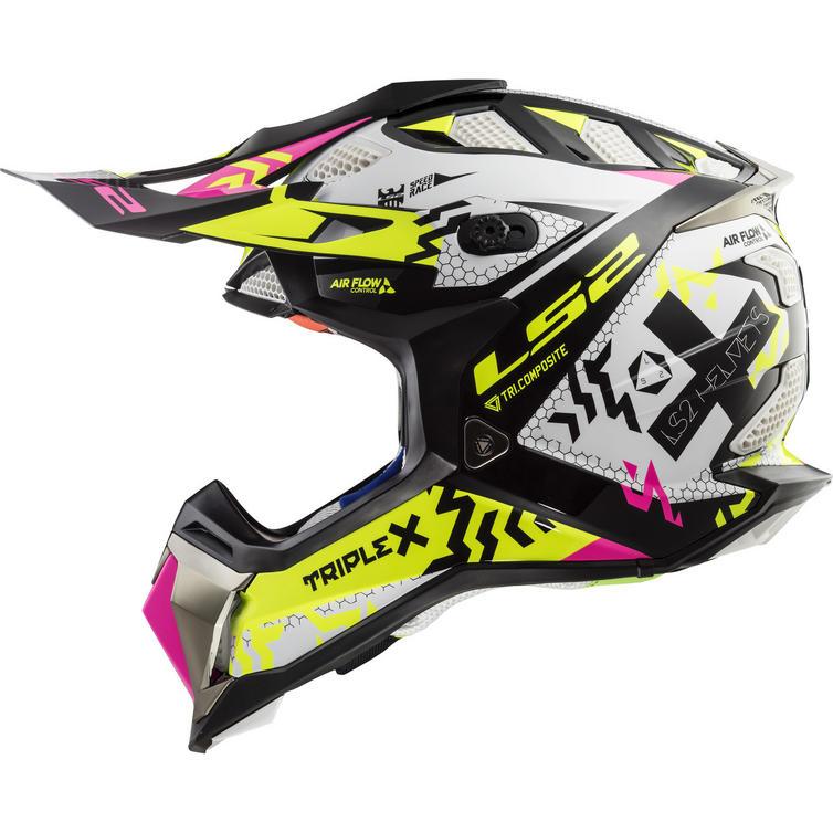 LS2 MX470 Subverter Triplex Motocross Helmet