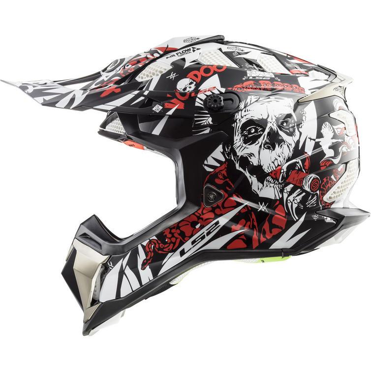 LS2 MX470 Subverter Voodoo Motocross Helmet