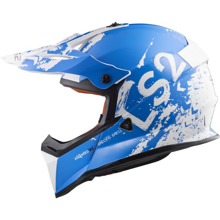 LS2 MX437 Fast Spot Motocross Helmet