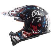 LS2 MX437 Fast Beast Motocross Helmet