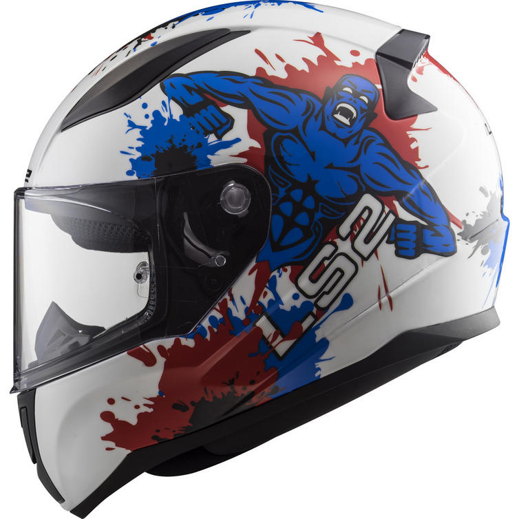 LS2 FF353J Rapid Mini Monster Youth Motorcycle Helmet