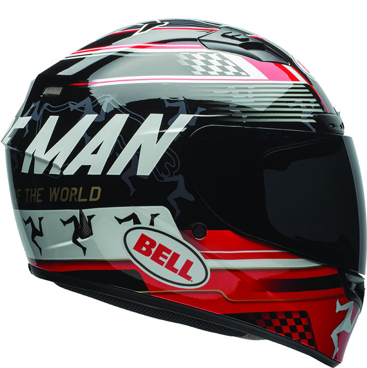 Bell Qualifier DLX Isle Of Man Motorcycle Helmet