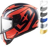 LS2 FF323 Arrow C Evo Sting Motorcycle Helmet & Visor