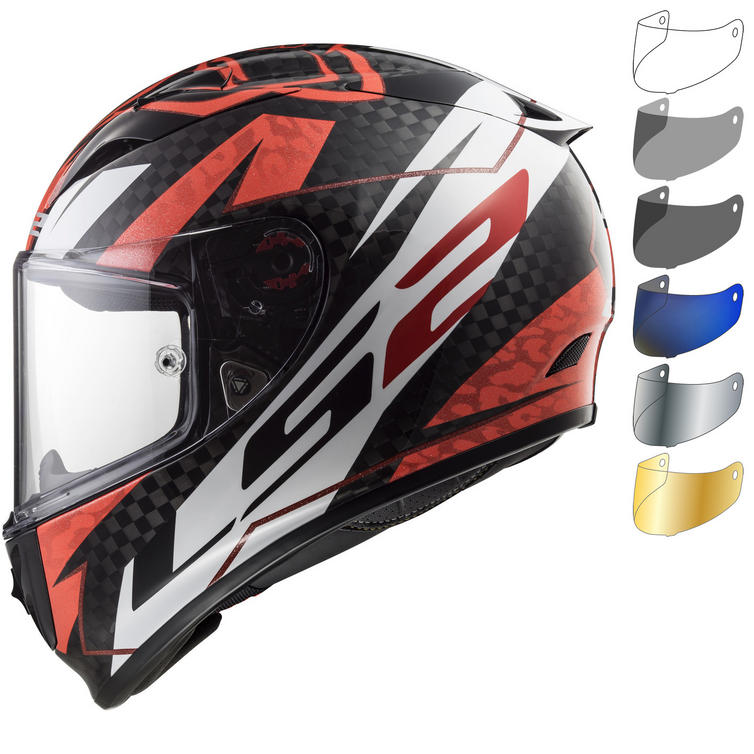 LS2 FF323 Arrow C Evo Replica Loris Baz Motorcycle Helmet & Visor