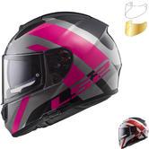 LS2 FF397 Vector HPFC Trident Motorcycle Helmet & Visor