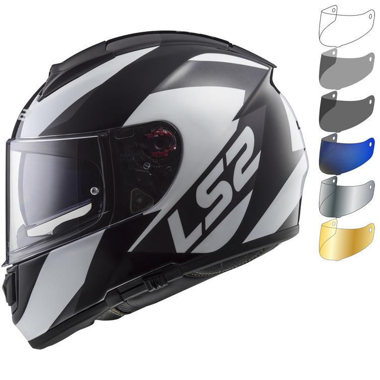 LS2 FF397 Vector HPFC Evo Wavy Motorcycle Helmet & FREE Visor