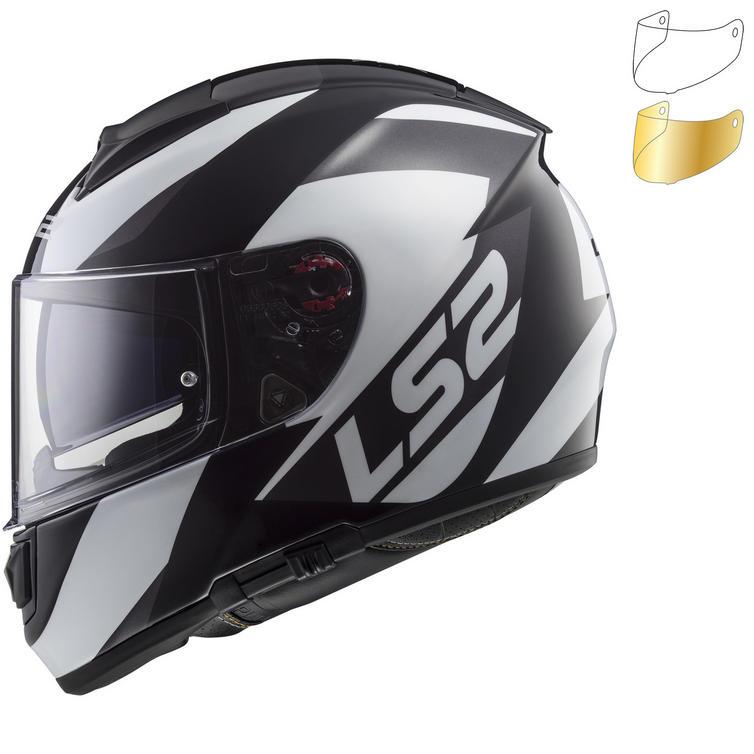 LS2 FF397 Vector HPFC Wavy Motorcycle Helmet & Visor