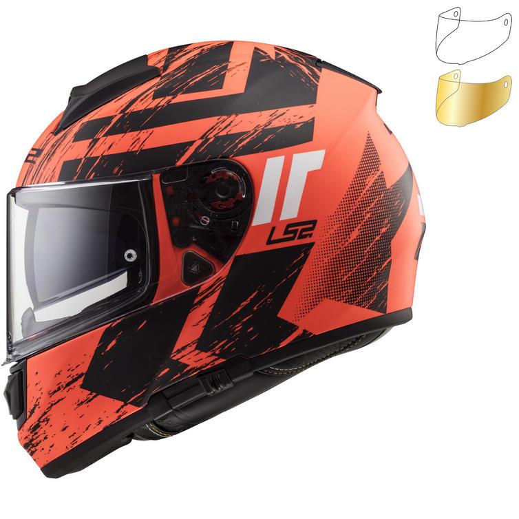 LS2 FF397 Vector HPFC Hunter Motorcycle Helmet & Visor