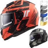 LS2 FF397 Vector HPFC Evo Hunter Motorcycle Helmet & FREE Visor
