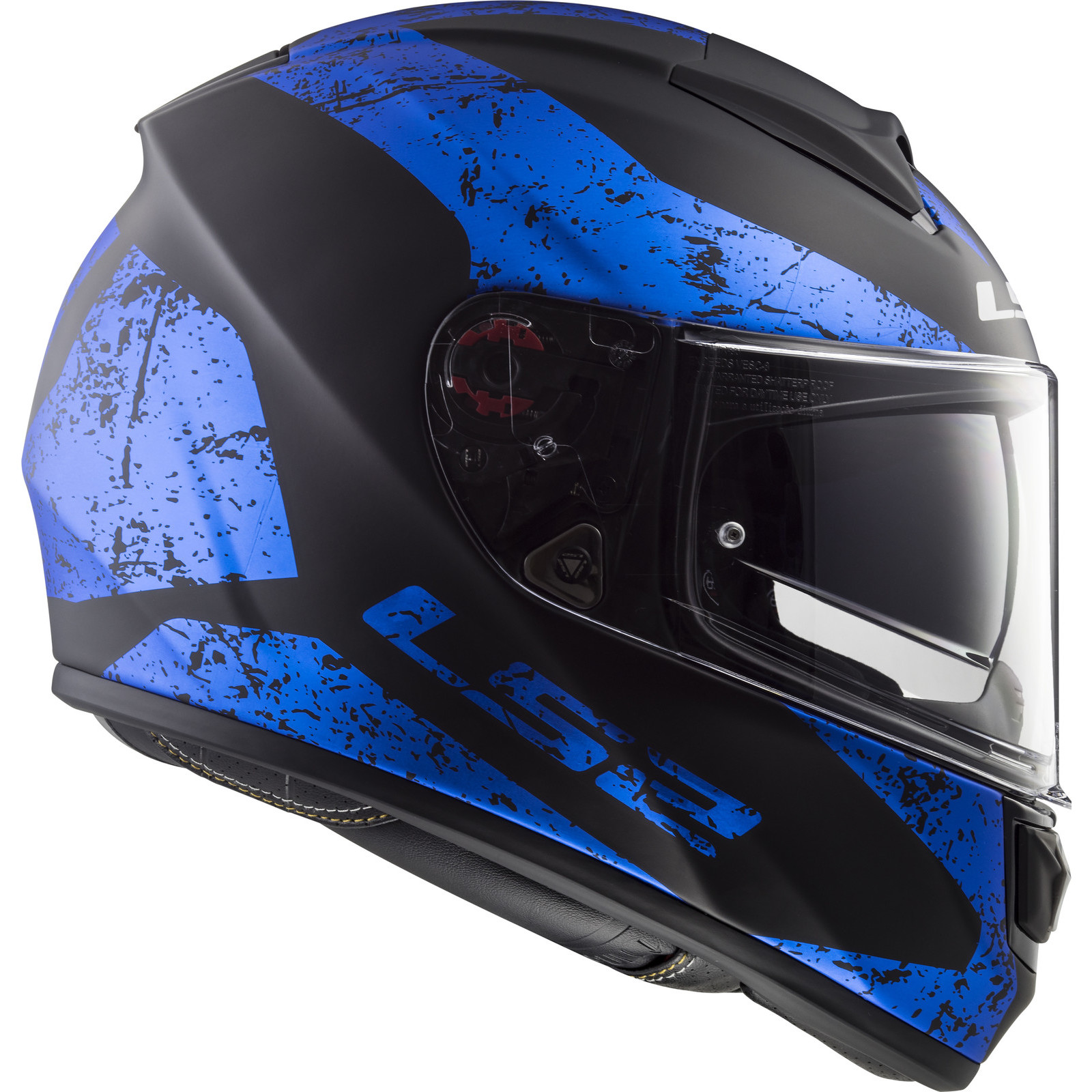 LS2 FF397 Vector Evo Visier Iridium Blau