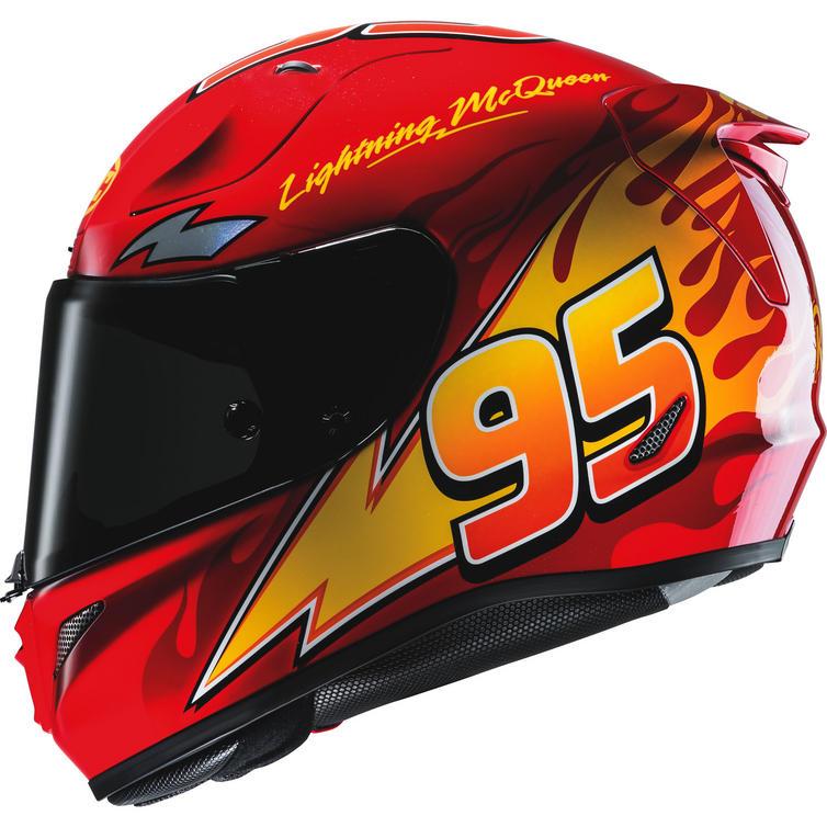 HJC RPHA 11 Lightning McQueen Disney Pixar Motorcycle Helmet