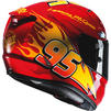 HJC RPHA 11 Lightning McQueen Disney Pixar Motorcycle Helmet Thumbnail 7