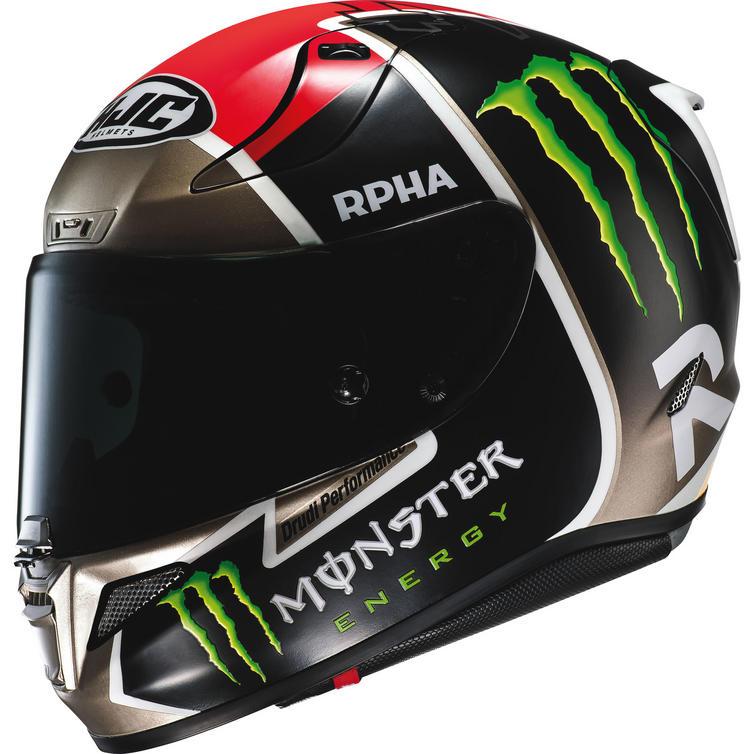HJC RPHA 11 Monster Jonas Folger Replica Motorcycle Helmet