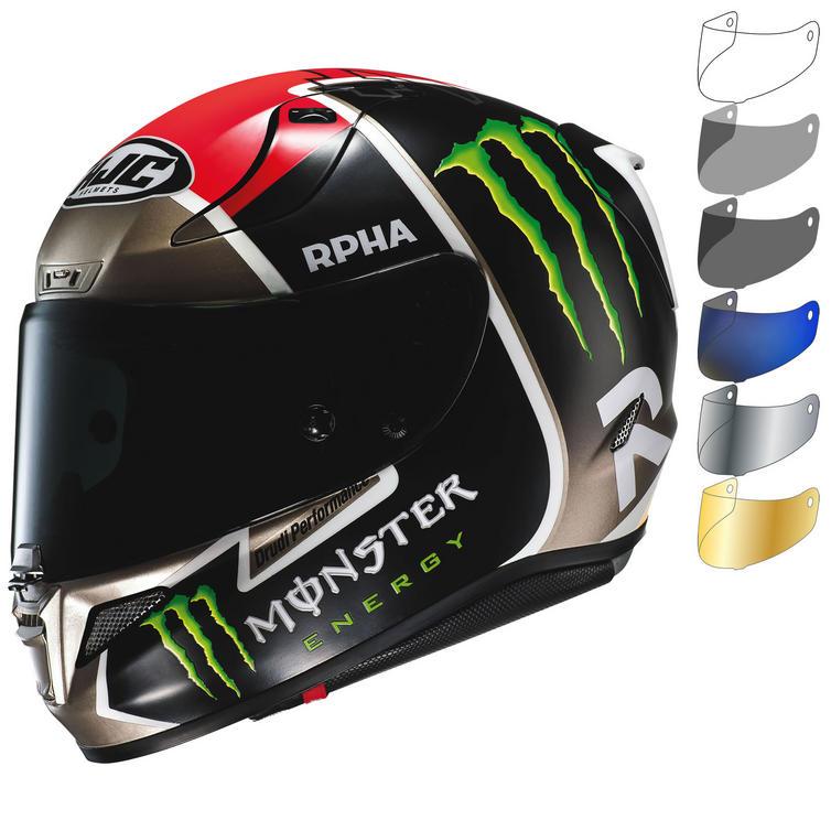 HJC RPHA 11 Monster Jonas Folger Replica Motorcycle Helmet & Visor