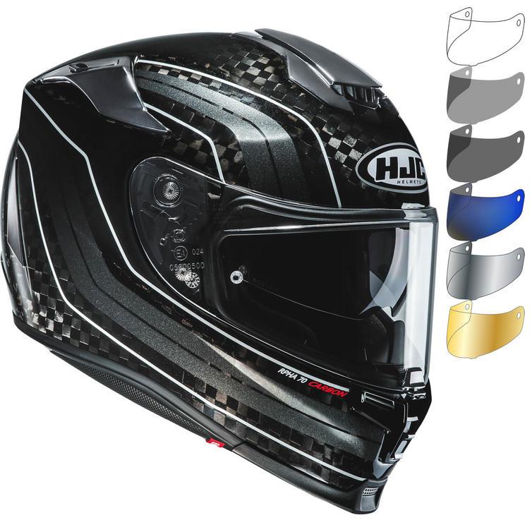 HJC RPHA 70 Carbon Hydrus Motorcycle Helmet & Visor